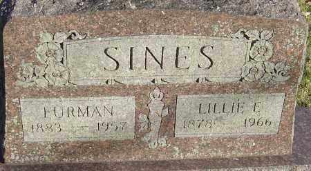 SINES, LILLIE E - Franklin County, Ohio | LILLIE E SINES - Ohio Gravestone Photos