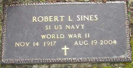SINES, ROBERT L - Franklin County, Ohio | ROBERT L SINES - Ohio Gravestone Photos