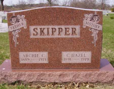 SKIPPER, ARCHIE C. - Franklin County, Ohio | ARCHIE C. SKIPPER - Ohio Gravestone Photos