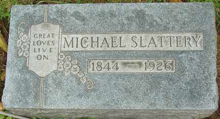 SLATTERY, MICHAEL - Franklin County, Ohio | MICHAEL SLATTERY - Ohio Gravestone Photos