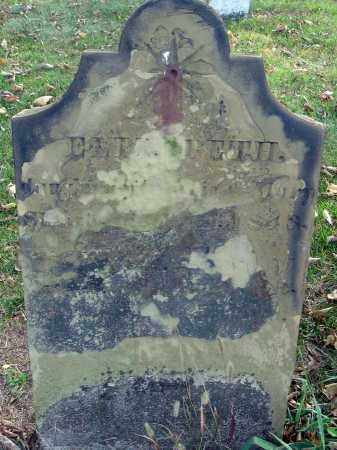 SLOUGH?, ELIZABETH - Franklin County, Ohio | ELIZABETH SLOUGH? - Ohio Gravestone Photos