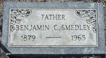 SMEDLEY, BENJAMIN C - Franklin County, Ohio | BENJAMIN C SMEDLEY - Ohio Gravestone Photos
