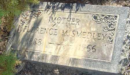 SMEDLEY, FLORENCE M - Franklin County, Ohio | FLORENCE M SMEDLEY - Ohio Gravestone Photos