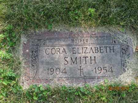 WOLFE SMITH, CORA ELIZABETH - Franklin County, Ohio | CORA ELIZABETH WOLFE SMITH - Ohio Gravestone Photos