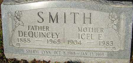 SMITH, DEQUINCEY - Franklin County, Ohio | DEQUINCEY SMITH - Ohio Gravestone Photos