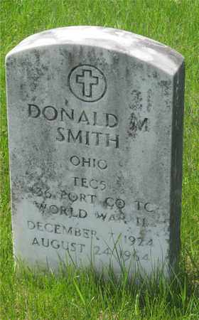 SMITH, DONALD M. - Franklin County, Ohio | DONALD M. SMITH - Ohio Gravestone Photos