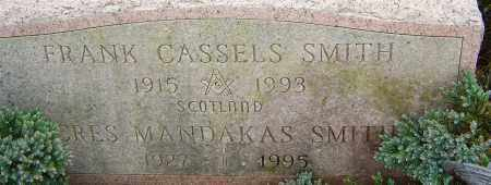 SMITH, FRANK CASSELS - Franklin County, Ohio | FRANK CASSELS SMITH - Ohio Gravestone Photos