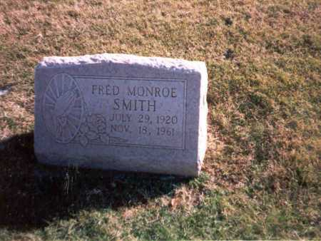 SMITH, FRED MONROE - Franklin County, Ohio | FRED MONROE SMITH - Ohio Gravestone Photos