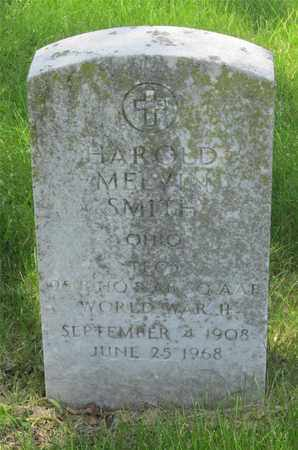 SMITH, HAROLD MELVIN - Franklin County, Ohio | HAROLD MELVIN SMITH - Ohio Gravestone Photos