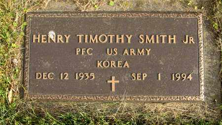 SMITH, HENRY TIMOTHY - Franklin County, Ohio | HENRY TIMOTHY SMITH - Ohio Gravestone Photos
