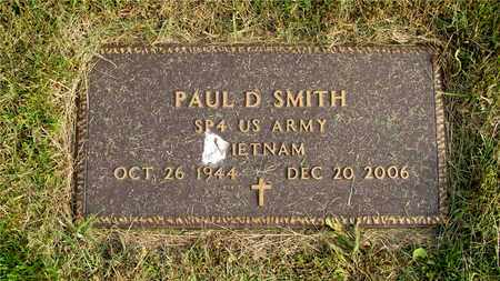 SMITH, PAUL D. - Franklin County, Ohio | PAUL D. SMITH - Ohio Gravestone Photos