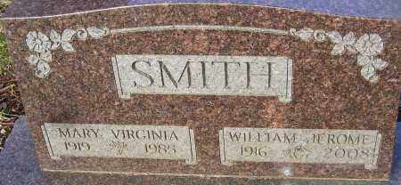SMITH, MARY VIRGINIA - Franklin County, Ohio | MARY VIRGINIA SMITH - Ohio Gravestone Photos