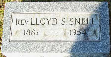 SNELL, LLOYD S - Franklin County, Ohio | LLOYD S SNELL - Ohio Gravestone Photos