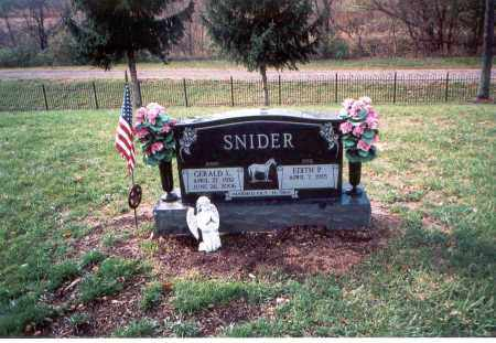 BENNETT SNIDER, EDITH P. - Franklin County, Ohio | EDITH P. BENNETT SNIDER - Ohio Gravestone Photos