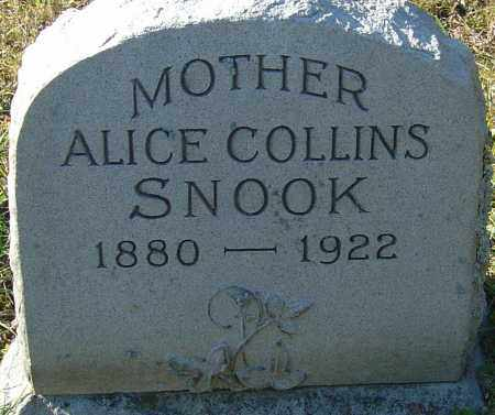 COLLINS SNOOK, ALICE LORRAINE - Franklin County, Ohio | ALICE LORRAINE COLLINS SNOOK - Ohio Gravestone Photos