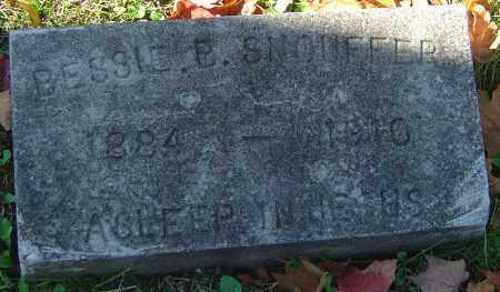 SNOUFFER, BESSIE BELLE - Franklin County, Ohio | BESSIE BELLE SNOUFFER - Ohio Gravestone Photos