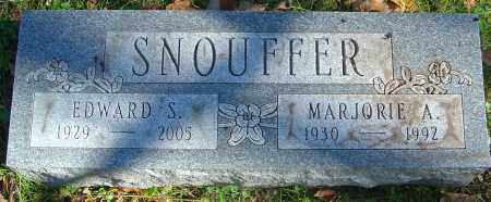 SETZER SNOUFFER, MARJORIE A - Franklin County, Ohio | MARJORIE A SETZER SNOUFFER - Ohio Gravestone Photos