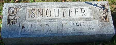 WATSON SNOUFFER, HELEN - Franklin County, Ohio | HELEN WATSON SNOUFFER - Ohio Gravestone Photos