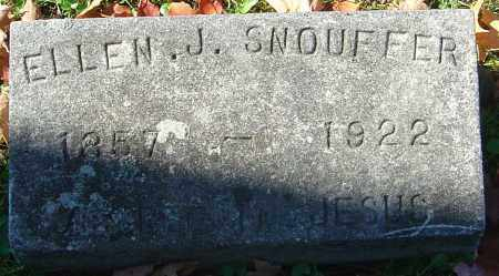 SNOUFFER, ELLEN JULIETTA - Franklin County, Ohio | ELLEN JULIETTA SNOUFFER - Ohio Gravestone Photos