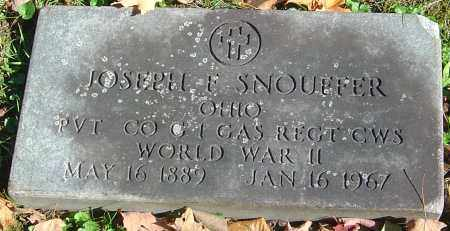 SNOUFFER, JOSEPH FOWLER - Franklin County, Ohio | JOSEPH FOWLER SNOUFFER - Ohio Gravestone Photos