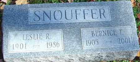 SNOUFFER, LESLIE ROOSEVELT - Franklin County, Ohio | LESLIE ROOSEVELT SNOUFFER - Ohio Gravestone Photos