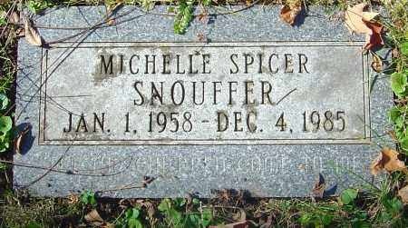 SPICER SNOUFFER, MICHELLE - Franklin County, Ohio | MICHELLE SPICER SNOUFFER - Ohio Gravestone Photos