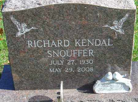 SNOUFFER, RICHARD KENDAL - Franklin County, Ohio | RICHARD KENDAL SNOUFFER - Ohio Gravestone Photos