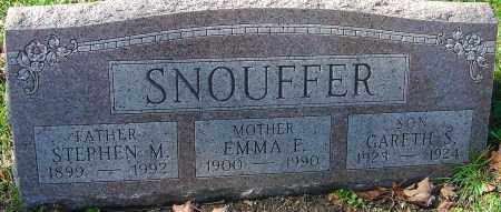 SNOUFFER, GARETH S - Franklin County, Ohio | GARETH S SNOUFFER - Ohio Gravestone Photos