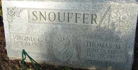 SNOUFFER, THOMAS MICHAEL - Franklin County, Ohio | THOMAS MICHAEL SNOUFFER - Ohio Gravestone Photos