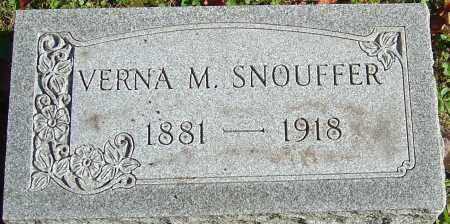 SNOUFFER, VERNA M - Franklin County, Ohio | VERNA M SNOUFFER - Ohio Gravestone Photos
