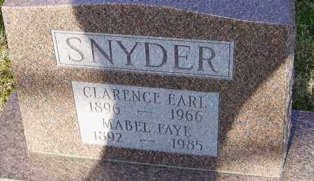 SNYDER, MABEL FAYE - Franklin County, Ohio | MABEL FAYE SNYDER - Ohio Gravestone Photos