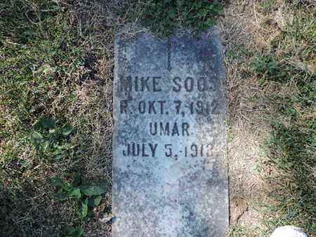 SOOS, MIKE - Franklin County, Ohio | MIKE SOOS - Ohio Gravestone Photos