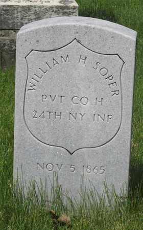 SOPER, WILLIAM H. - Franklin County, Ohio | WILLIAM H. SOPER - Ohio Gravestone Photos