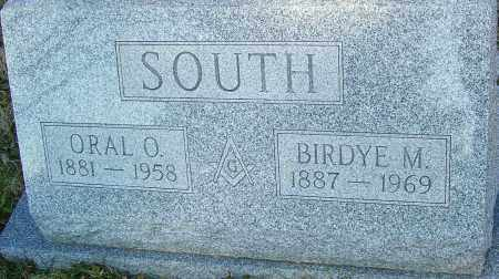 SOUTH, ORAL - Franklin County, Ohio | ORAL SOUTH - Ohio Gravestone Photos