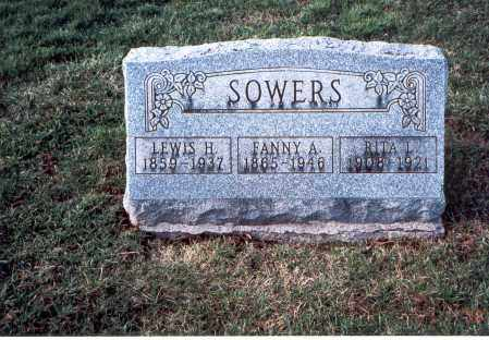 SOWERS, LEWIS - Franklin County, Ohio | LEWIS SOWERS - Ohio Gravestone Photos