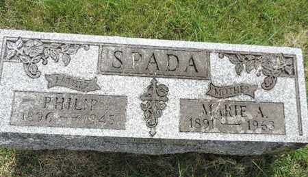 SPADA, PHILIP - Franklin County, Ohio | PHILIP SPADA - Ohio Gravestone Photos