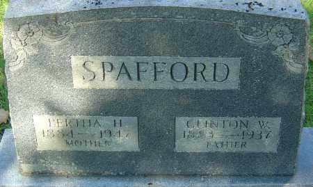 SPAFFORD, CLINTON W - Franklin County, Ohio | CLINTON W SPAFFORD - Ohio Gravestone Photos