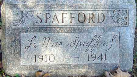 SPAFFORD, LEMAR - Franklin County, Ohio | LEMAR SPAFFORD - Ohio Gravestone Photos