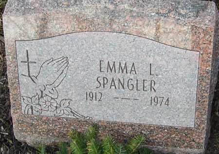 SPANGLER, EMMA L - Franklin County, Ohio | EMMA L SPANGLER - Ohio Gravestone Photos
