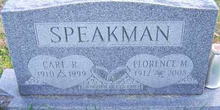 SPEAKMAN, CARL - Franklin County, Ohio | CARL SPEAKMAN - Ohio Gravestone Photos