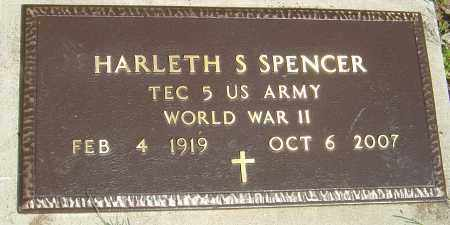 "SPENCER, HARLETH S ""HANK"" - Franklin County, Ohio 