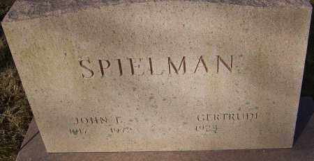SPIELMAN, JOHN E - Franklin County, Ohio | JOHN E SPIELMAN - Ohio Gravestone Photos