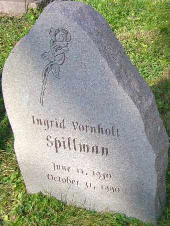 SPILLMAN, INGRID - Franklin County, Ohio | INGRID SPILLMAN - Ohio Gravestone Photos