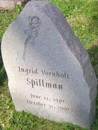 VORNHOLT SPILLMAN, INGRID - Franklin County, Ohio | INGRID VORNHOLT SPILLMAN - Ohio Gravestone Photos