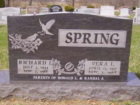 SPRING, VERA L.  - FRONT - Franklin County, Ohio | VERA L.  - FRONT SPRING - Ohio Gravestone Photos
