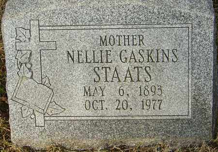 STAATS, NELLIE - Franklin County, Ohio | NELLIE STAATS - Ohio Gravestone Photos