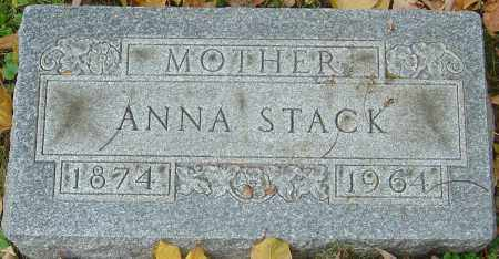 CHRISTIAN STACK, ANNA - Franklin County, Ohio | ANNA CHRISTIAN STACK - Ohio Gravestone Photos