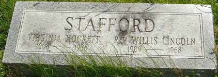 STAFFORD, WILLIS - Franklin County, Ohio | WILLIS STAFFORD - Ohio Gravestone Photos