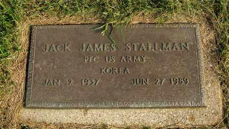 STALLMAN, JACK JAMES - Franklin County, Ohio | JACK JAMES STALLMAN - Ohio Gravestone Photos