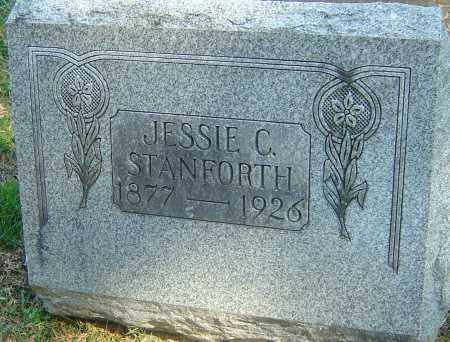 KIDNER STANFORTH, JESSIE CHRISTINA - Franklin County, Ohio | JESSIE CHRISTINA KIDNER STANFORTH - Ohio Gravestone Photos
